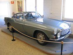 Volvo P1800 at the Volvo Museum -Göteborg, Sweden