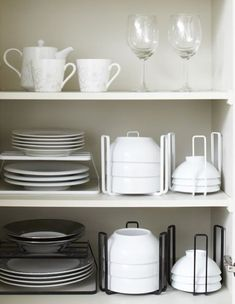 27 small kitchen organization and diy storage ideas 8 – Home Decor Kitchen Cupboard Organization, Diy Kitchen Storage, Kitchen Cupboards, Home Decor Kitchen, Diy Storage, Storage Organization, Small Storage, Tidy Kitchen, Kitchen Design