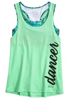 Sports 2fer Tank (original price, $26.90) available at #Justice
