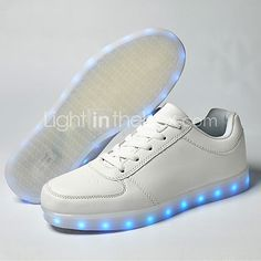 LED Light Up Shoes, Running Shoes 2016 New Arrival Men's Shoes USB charging Outdoor/Athletic/Casual Best Seller Fashion Sneakers Blue/Navy  2017 - £24.39