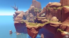 Hey everyone, I just released the second asset in my Low Poly Series on the Unity Asset Store. Environment Concept Art, Environment Design, Low Poly Games, Polygon Art, Lake Art, Low Poly 3d, Cg Art, Environmental Art, Game Design