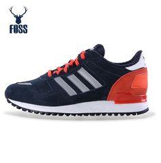 timeless design cb992 723d5 Cheap Adidas Women Originals ZX 700 Running Shoes M20983 Suede Black White  Pink