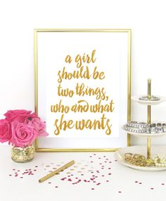 A Girl Should Be - A
