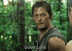 Pin for Later: 21 Walking Dead GIFs That Will Only Make Sense to Someone Who Isn't a Morning Person When the Stuffy Dude Next to You Doesn't Have Time For Your Freakout