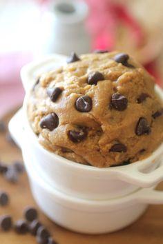 Edible Protein Chocolate Chip Cookie Dough   Dashing Dish