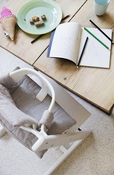 Tripp Trapp� Chair, Baby Set, Cushion & Tray Set