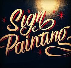 Hand Painted Signs by Caetano Calomino