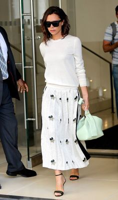 Victoria Beckham Officially Can't Stop Wearing This Trend via @WhoWhatWearUK