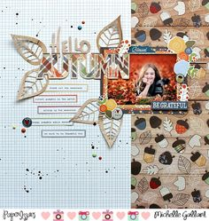 Paper Issues: Product Spotlight: Simple Stories Hello Fall - great layout!