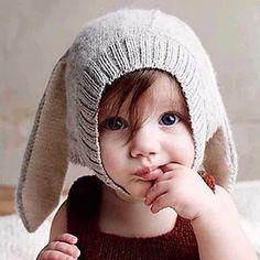 Baby Rabbit Ear Beanie - Pompabee   YESSTYLE