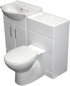 roma furniture  complete vanity suite in white, left handed. 1025x830x300mm. - taps4less.com