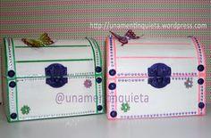 cofre joyero para niña #diy #manualidades #joyero #niña