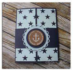 CT0513: Nautical Gatefold Card by ~Fee~ - Cards and Paper Crafts at Splitcoaststampers
