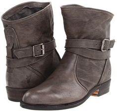 shopstyle.com: Frye - Dorado Short (Charcoal Antique Pull Up) - Footwear