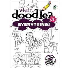 Dover PublicationsWhat To Doodle? Jr. Everything!