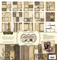 Simple Stories - Documented Collection - 12 x 12 Collection Kit at Scrapbook.com $20.99
