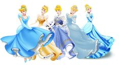 The Disney Princesses' looks throughout the years. The original is the best!!