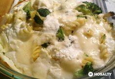 Brokkolis-sajtos tészta