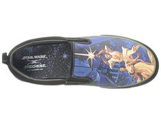 Vintage Star Wars Movie Poster Sketchers Slip-on Sneakers - Zappos.com Mobile Site