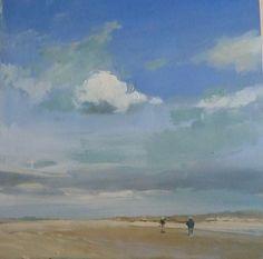 Philip Tyler Brancaster Acrylic on Board 30 x 30cm