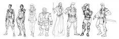 Dragon Age concept art (Matt Rhodes)