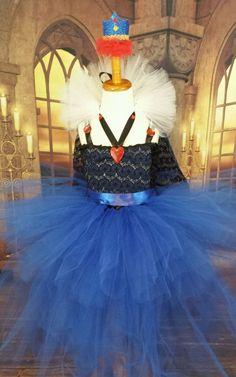 Descendants Evie coronation dress 3/4 ballgown, Mal costume, Evie dress  #RoyalTutuTeaPartyDresses #Dress
