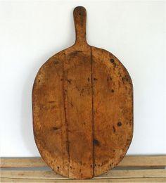 Vintage Bakers Board. Wooden. Primitive.
