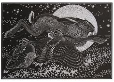 Colin See-Paynton Woodengraving Norton Way Gallery Hertfordshire