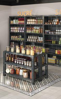 Deco Restaurant, Bakery Design, Cafe Design, Supermarket Design, Spice Shop, Farm Store, Cafe Interior, Shop Interiors, Retail Design