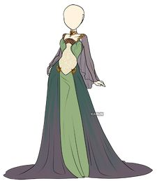Hi folks! Started new commission series! Thise outfit a re for Luna the Oc of nice I tried to make a mix of arabian night and fantasy witch dresses, I hope you like it! If you like this kind of com...