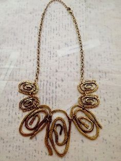 Large Bib Necklace New | eBay