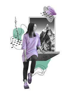 Fashion Collages Katia Kozyreva 2018 on Behance Source by paloheimo collage Web Design, Game Design, Fashion Design Sketchbook, Fashion Design Drawings, Art Sketchbook, Digital Collage, Collage Art, Collages, Travel Collage