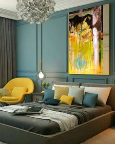 The Insider Secret on Chic and Stylish Bedroom Decoration Ideas for Teenager on a Budget Exposed - lowesbyte Glam Bedroom, Modern Bedroom Decor, Stylish Bedroom, Bedroom Ideas, Modern Bedrooms, Design Bedroom, Couple Room, Room Colors, Home Decor Items