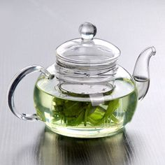 You will love this simple glass teapot for your teatime! It comes with a large glass infuser so you can easily make your favorite blend and prevent over steeping. Enjoy your tea with ease and style.