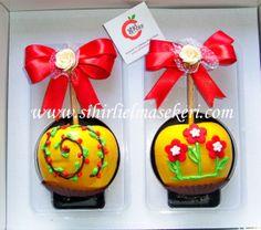 Karamelli Çikolatalı Elma Şekeri Caramel and Chocolate Apples-Candy Apples