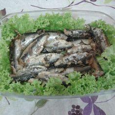 Sardinhas na pressão #homemadefood