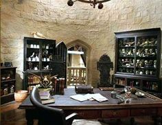 Office of professor lupin