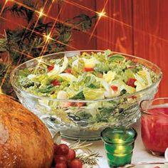 Christmas Salad Recipe | Taste of Home Recipes