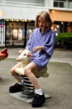 Harajuku street fashion-Street Snap Fashion