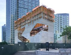 Construction Update: Hunters Point Community Library - STEVEN HOLL ARCHITECTS