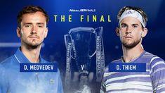 डिजिटल डेस्क। वर्ल्ड नंबर-3 डोमिनिक थीम और वर्ल्ड नंबर-4 डेनिल मेदवेदेव ने एटीपी फाइनल्स टेनिस टूर्नामेंट के फाइनल में प्रवेश कर लिया है। अब दोनों खिलाड़ियों के बीच खिताबी मुकाबला आज रविवार को खेला जाएगा। ऑस्ट्रेलिया के डोमिनिक थीम ने सेमीफाइनल मैच में वर्ल्ड नंबर-1 सर्बिया के नोवाक जोकोविच को 7-5, 6-7, 7-6 से मात देकर फाइनल में अपनी जगह पक्की की है। तो वहीं रूस के डेनिल मेदवेदेव ने दूसरे सेमीफाइनल मैच में वर्ल्ड नंबर-2 स्पेन के राफेल नडाल को 3-6, 7-6, 6-3 से मात देकर फाइनल में प्रवेश… Tie Break, Fifth Gear, Tennis News, Big Three, Cricket News, Latest Sports News, Semi Final, Rafael Nadal, Roger Federer