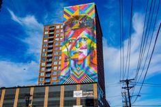 The Stunning Street Art Murals Combating Graffiti In Jersey City - Info Ideal Kobra Street Art, Murals Street Art, Graffiti Murals, Mural Art, Ford City, New York Graffiti, Graffiti Tattoo, Nyc Subway, Art Programs