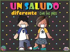 Teaching Spanish, Teaching Kids, Safety Rules At School, Teacher Cartoon, Art History Lessons, Schedule Cards, Classroom Crafts, School Colors, Kindergarten Math