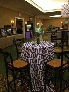 Very cool purple linen