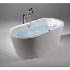 Freestanding Oval Tub     Home Depot, $2,025. Acri Tec   ARTO