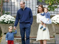 Prince William, Duchess Kate, Prince George and Princess Charlotte attended a children's party in Victoria, British Columbia, Canada and it was just as cute as you'd expect.