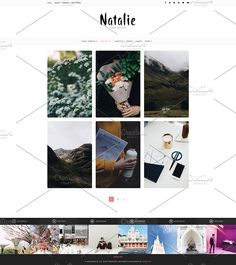 Natalie - A BLOG and SHOP Theme by DannyWP on @creativemarket