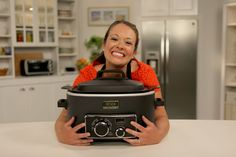 SLOW COOKER heaven. This woman cooked everything! in a slow cooker for an entire year and blogged about it. I LOVE MY NINJA!