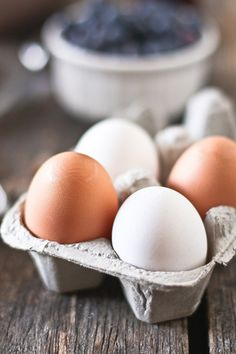 Organic, hormone free eggs.  Eat them! They do amazing things for your body.   Use them as a face mask. Over time they will repair any skin scars or discolorations. They'll also tighten, tone & firm the skin, if used regularly. The protein in them also helps build collegen.  Yep. The incredible, edible egg.