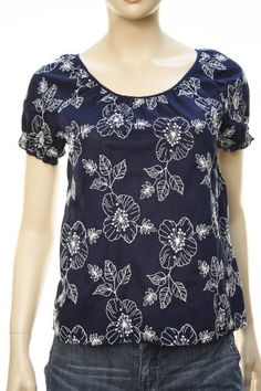 34205a90d1cd Lucky Brand Women s Floral Pattern Embroidered « Clothing Impulse  Embroidered Clothes